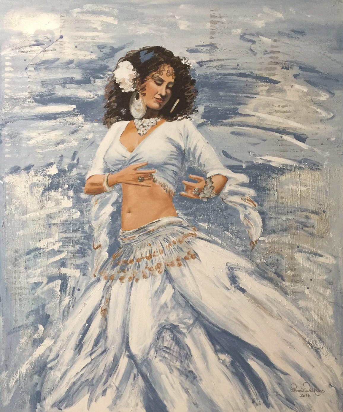 Samba-danserinde-100x120cm