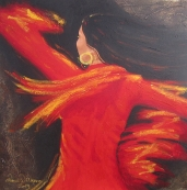 Dancing-sevillana-60x60cm